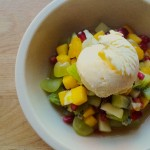 Fruit Salad w Cinnamon Star Anis Syrup