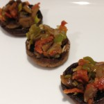 Stuffed Mushrooms with Caramelized Leek