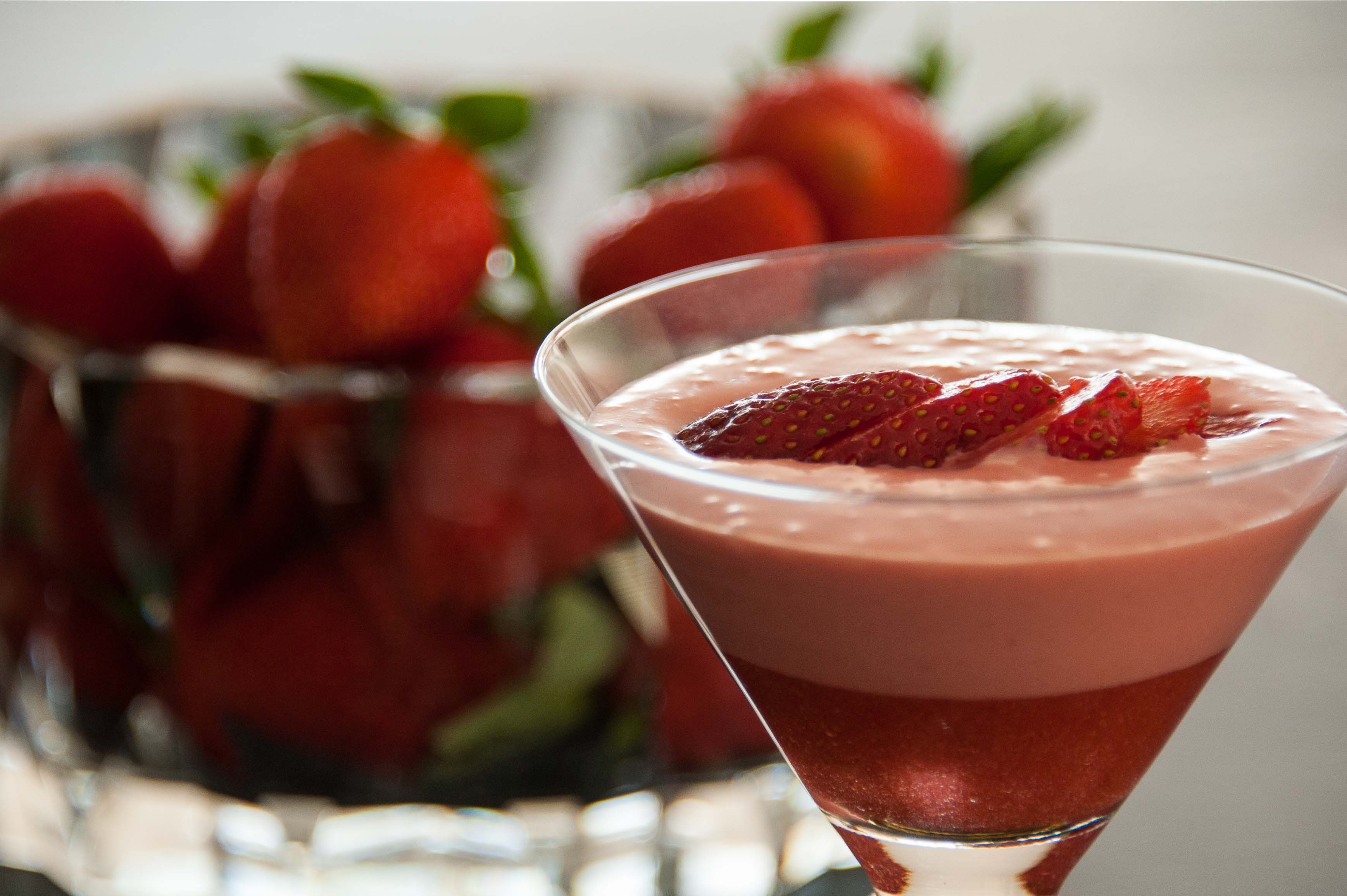 Cool Creamy Strawberry Dessert