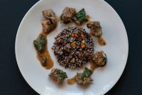 Spicy Beef w Nutty Fruity Quinoa