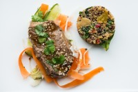 Asian Lamb w Lime Quinoa