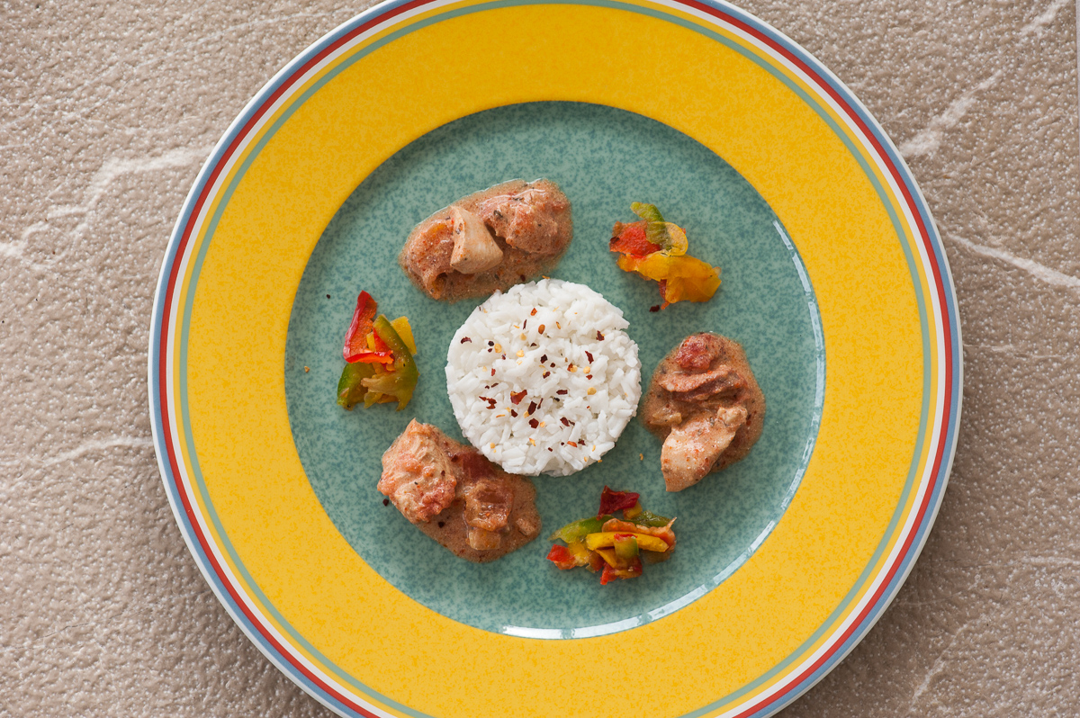 chicken dish full of flavours inspired from a Louisiana recipe. For ...