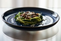 Anchovy Courgette Pasta