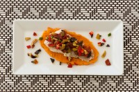 Cod Sweet Potato Tapenade