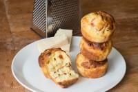 Olive Parmesan Muffins