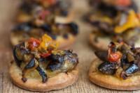 Aubergine Bites