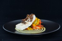 Cod with Avocado Cream