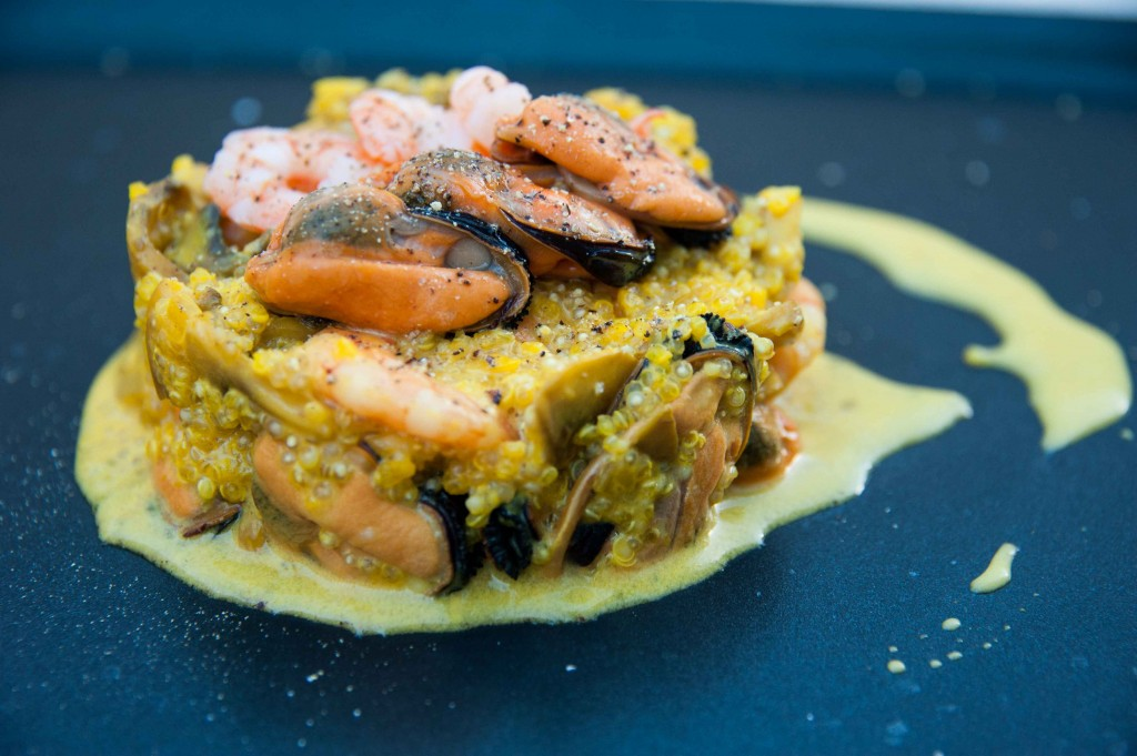 Seafood quinotti