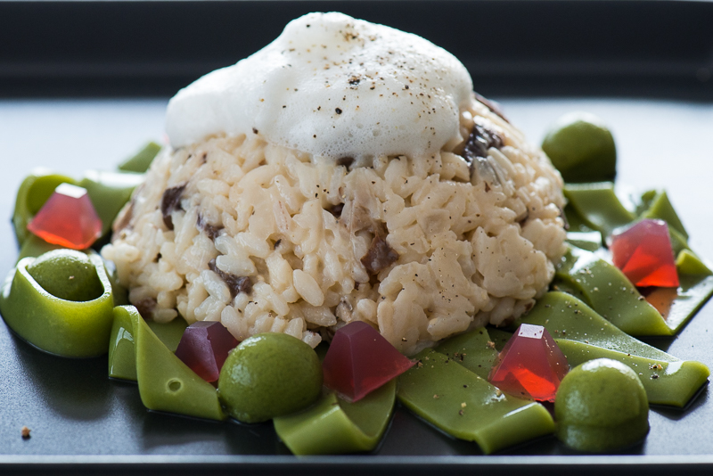 Risotto w SpinachParmesan Noodles-3933