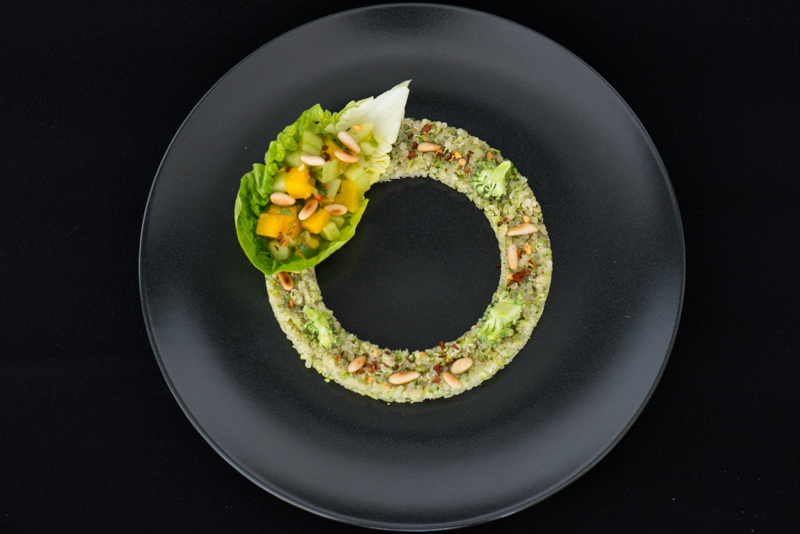 180300 Quinoa Broccoli with Vegetable Ceviche-9286